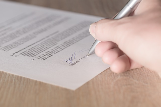 własny podpis